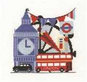 London Sight Seeing - DMC Cross Stitch Kit