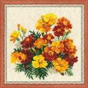 Marigolds - RIOLIS Cross Stitch Kit