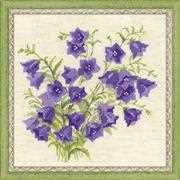 RIOLIS Bellflowers Cross Stitch Kit