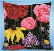 Design Works Crafts Midnight Floral Tapestry Kit