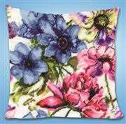 Design Works Crafts Watercolour Floral Tapestry Kit