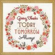 Give Thanks - Design Works Crafts Cross Stitch Kit