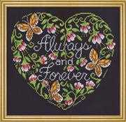 Always and Forever - Design Works Crafts Cross Stitch Kit