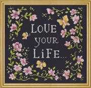 Love Your Life - Design Works Crafts Cross Stitch Kit