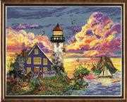 Lighthouse Sunset - Design Works Crafts Cross Stitch Kit
