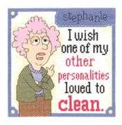 Other Personalities - Janlynn Cross Stitch Kit