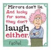 Mirrors Don't Lie - Janlynn Cross Stitch Kit