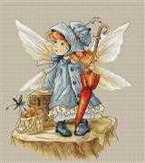 Luca-S Picnic Fairy Cross Stitch Kit