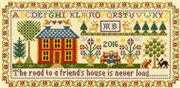 Friend's House Sampler - Bothy Threads Cross Stitch Kit