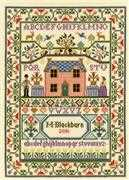 Country Cottage Sampler - Bothy Threads Cross Stitch Kit
