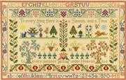Season and Time Sampler - Bothy Threads Cross Stitch Kit