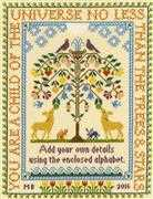 Tree of Life Sampler - Bothy Threads Cross Stitch Kit