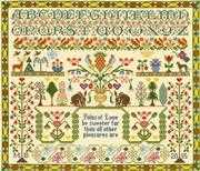 Pains of Love Sampler - Bothy Threads Cross Stitch Kit