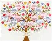 Bothy Threads Family Tree Cross Stitch Kit