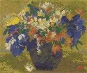 Gauguin - A Vase of Flowers - DMC Cross Stitch Kit