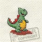 Mouseloft Dinosaur Cross Stitch Kit