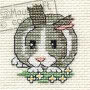 Mouseloft Daisy Rabbit Cross Stitch Kit
