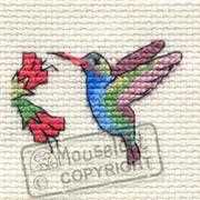 Mouseloft Hummingbird Cross Stitch Kit