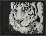 White Tiger - Design Works Crafts Cross Stitch Kit