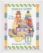 Design Works Crafts Toys Birth Sampler Cross Stitch Kit