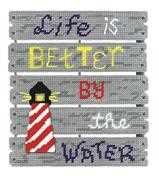 By The Water - Janlynn Cross Stitch Kit