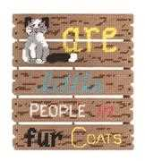 Cats Are - Janlynn Cross Stitch Kit