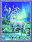 White Stag - RIOLIS Cross Stitch Kit