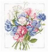 Lanarte Colourful Bouquet Cross Stitch Kit