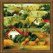RIOLIS Serbian Landscape Cross Stitch Kit