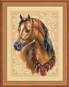 RIOLIS Arabian Horse Cross Stitch Kit