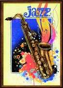 RIOLIS Jazz Cross Stitch Kit