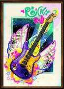 RIOLIS Rock 'n' Roll Cross Stitch Kit