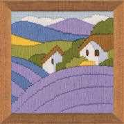 RIOLIS Lavender Long Stitch Kit