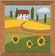 RIOLIS Sunflowers Long Stitch Kit