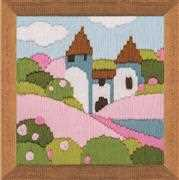 RIOLIS Pink Garden Long Stitch Kit