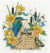 DMC Kingfisher Cross Stitch Kit