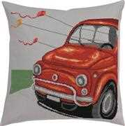 Fiat Pillow - Permin Cross Stitch Kit