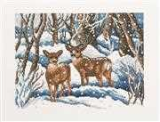 Permin Winter Forest Cross Stitch Kit