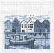 Permin Harbour Cross Stitch Kit
