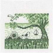 Seagull - Permin Cross Stitch Kit