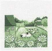 Sheep - Permin Cross Stitch Kit