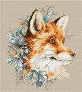 Luca-S The Fox Cross Stitch Kit