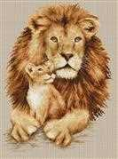 Luca-S Lion Cross Stitch Kit