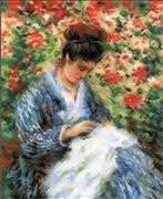 RIOLIS Camille Monet Cross Stitch Kit