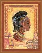 RIOLIS African Princess Cross Stitch Kit