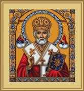 Luca-S St Nicholas Cross Stitch Kit