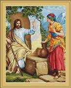 Jesus at the Well - Luca-S Cross Stitch Kit