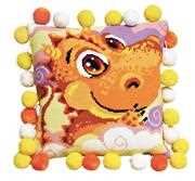 RIOLIS Little Dragon Cushion Cross Stitch Kit