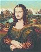Mona Lisa - Grafitec Tapestry Canvas