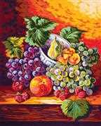 Still Life Fruit - Grafitec Tapestry Canvas